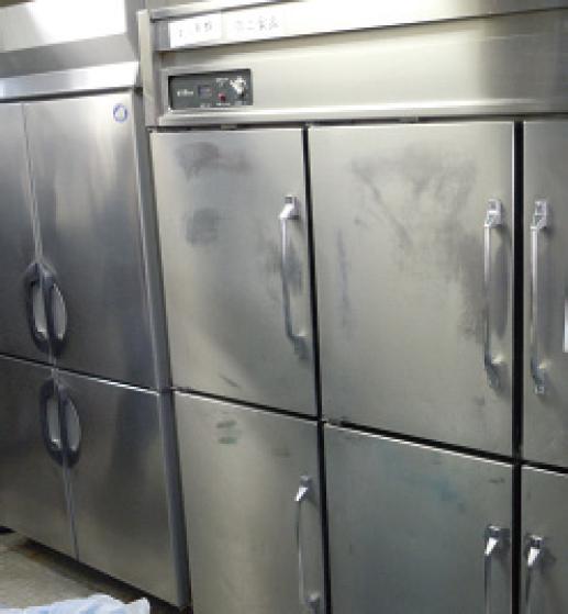 ジアミスティー®による業務用冷蔵庫の除菌